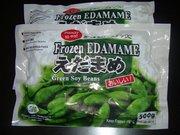 """Frozen Edamame """" Siap Saji """"adalah kedelai jepang dan di konsumsi setiap hari oleh masyarakat Jepang. Tanaman ini sudah berhasil dikembangkan di Indonesia dan bisa dinikmati manfaatnya untuk kesehatan kita. Manfaat Edamame  : 1. Protein Edamame mengurangi kolesterol, 2. Kalsium Edamame membangun kembali kepadatan tulang, 3. Isoflavones Edamame mampu mencegah kanker dan manopuse menjadi munur, 4. Edamame camilan non kolesterol dan bisa menggantika protein pada daging, telur dan susu. Ada 2 rasa : Original dan Gurih . Harga 10.000. Hubungi Eva ( 03191680279)"""